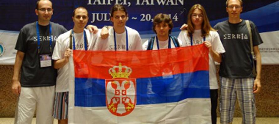Mladi programeri iz Srbije osvojil tri medalje na Tajvanu