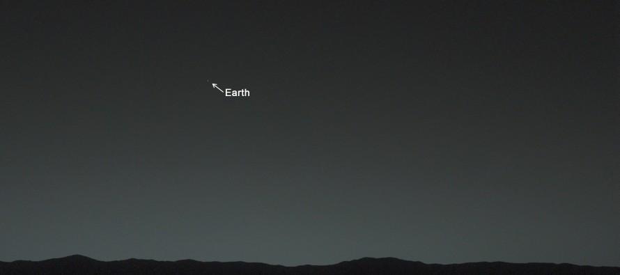 Kako izgleda Zemlja sa Marsa