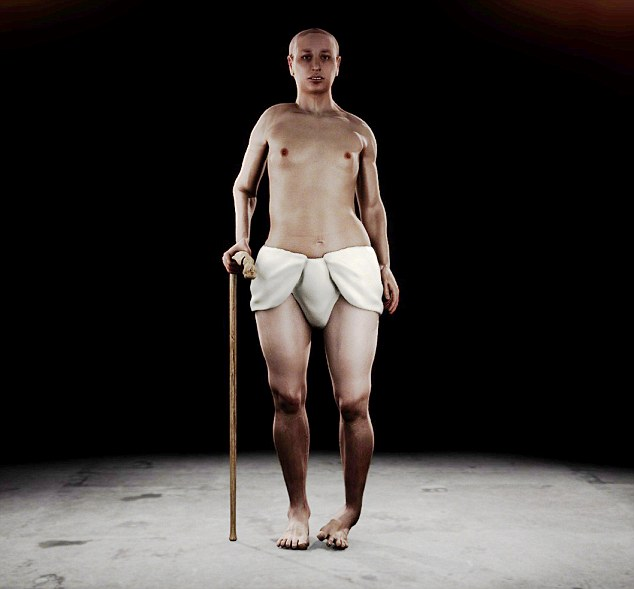 3D model koji prikazuje kako je slavni vladar izgledao