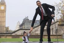 Dan Ginisove knjige rekorda – susret najvišeg i najnižeg čoveka