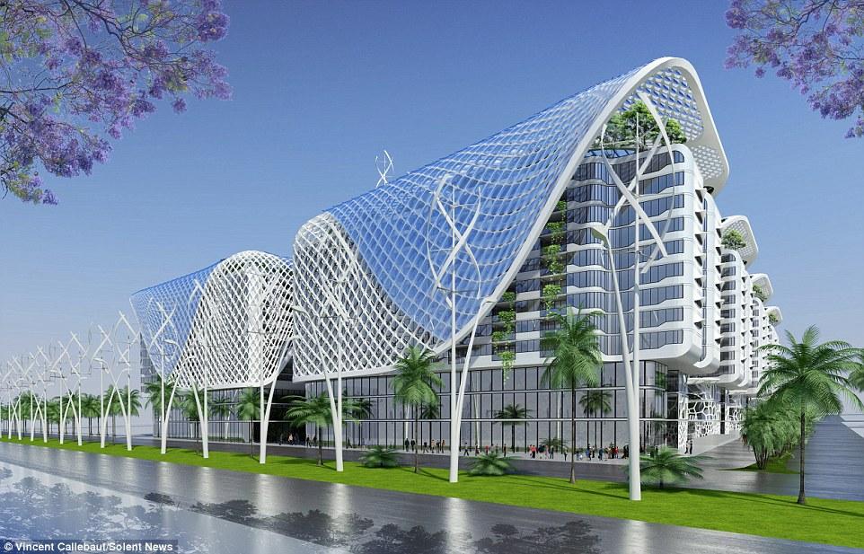 Model zgrade. Foto: vincent.callebaut.org