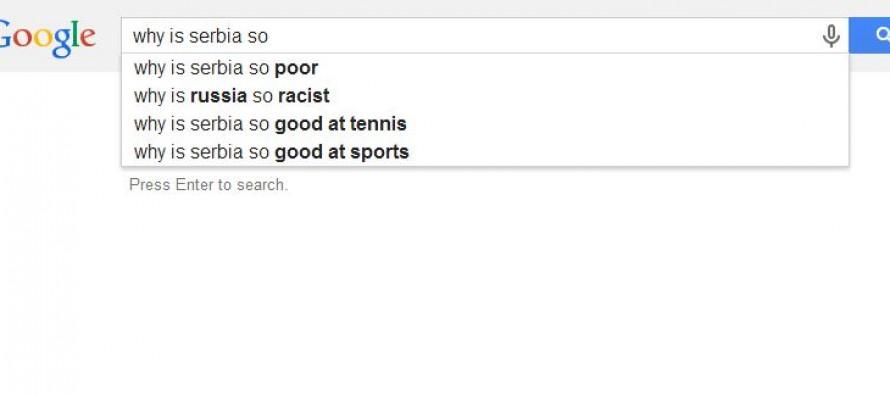 Šta Gugl auto-dopuna kaže za evropske države?