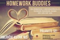 """Homework Buddies"" – radionice engleskog jezika u Nišu"