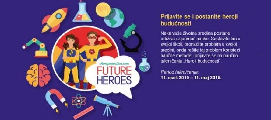 """Prijavljivanje za takmičenje """"Heroji budućnosti"""""""