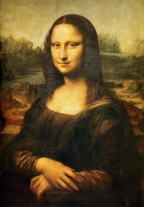 """Leonardo da Vinči """"Mona Liza"""""""