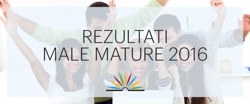 Rezultati male mature 2016