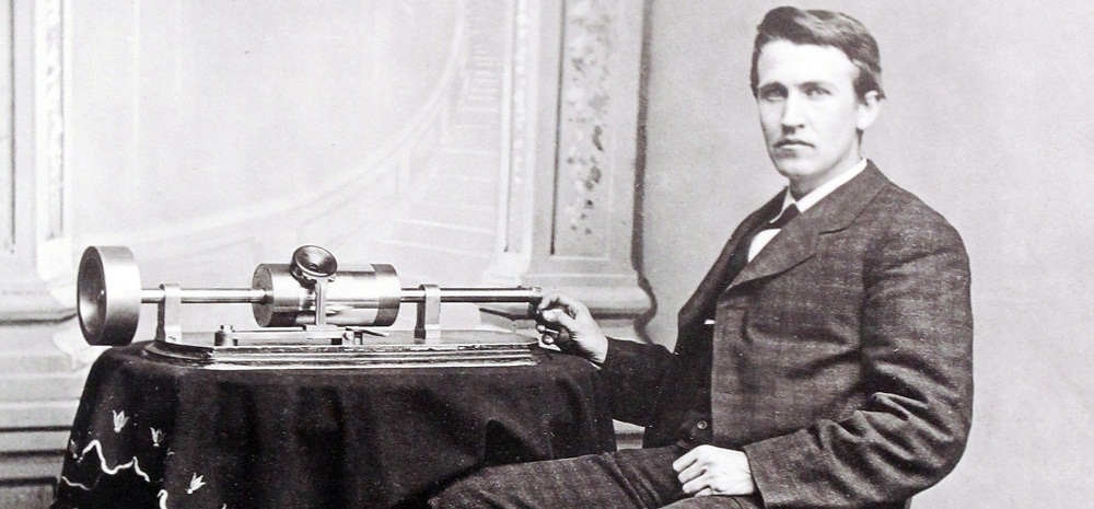 Fonograf Tomasa Edisona