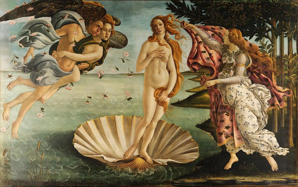 Sandro Boticeli radjanje venere