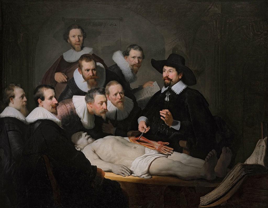 cas anatomije doktora nikolada tulpavrembrant