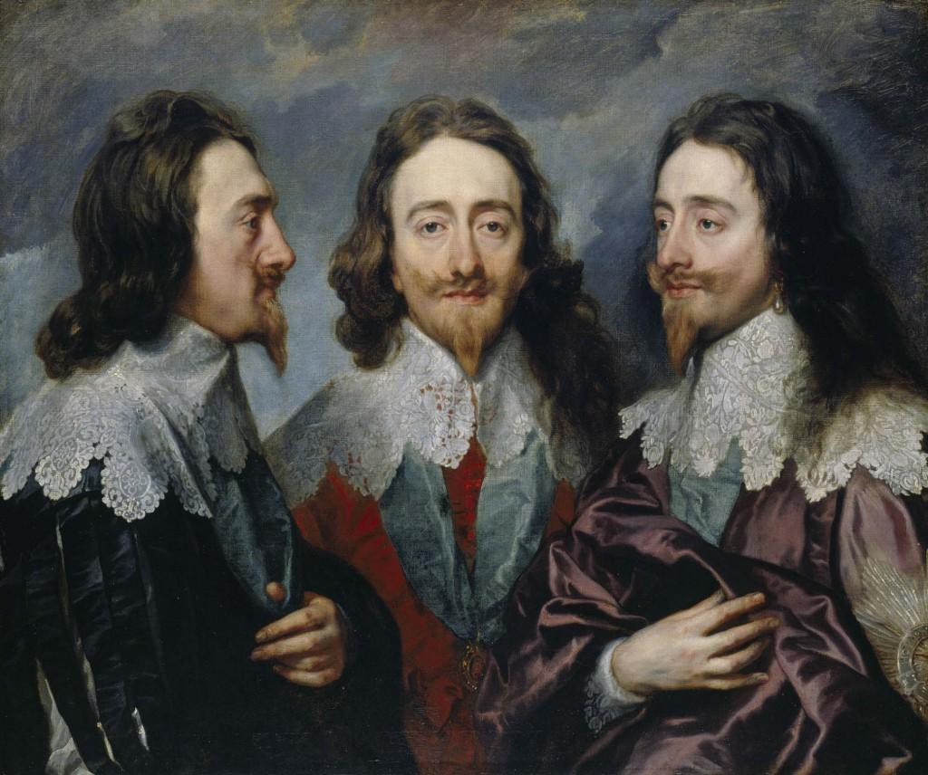 slika portret kralja
