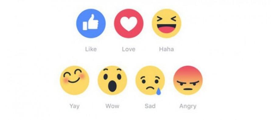 Promenite nove reakcije na Facebook-u