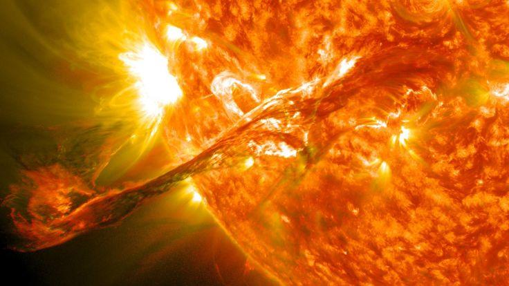 sunce erupcije