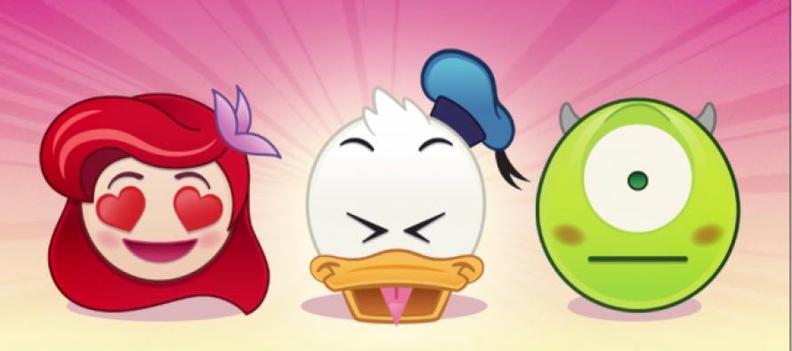 Omiljeni Diznijevi likovi – kao emotikoni
