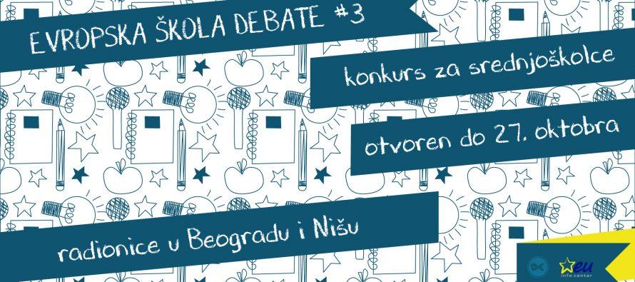 Evropska škola debate #3