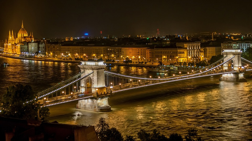 Dunav protiče kroz Budimpeštu