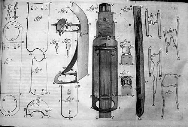Skice mikroskopa koje je Levenhuk pravio