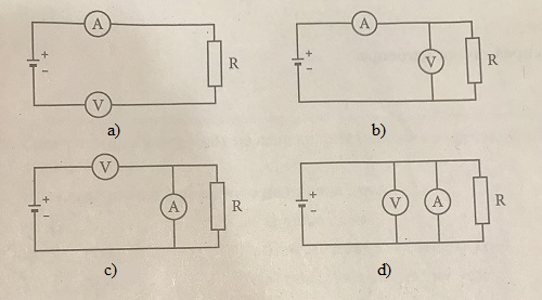 električno kolo kombinovani test