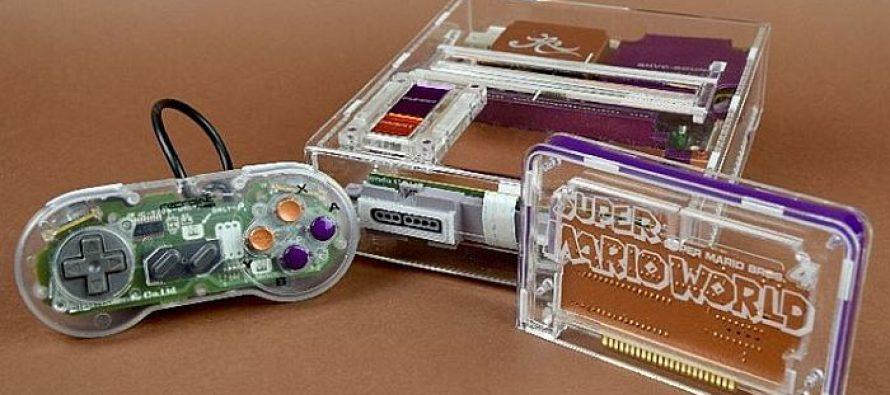 Ograničena serija providnih Super Nintendo konzola