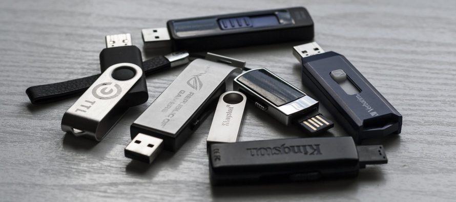 USB postaje lakši kada se napuni podacima?
