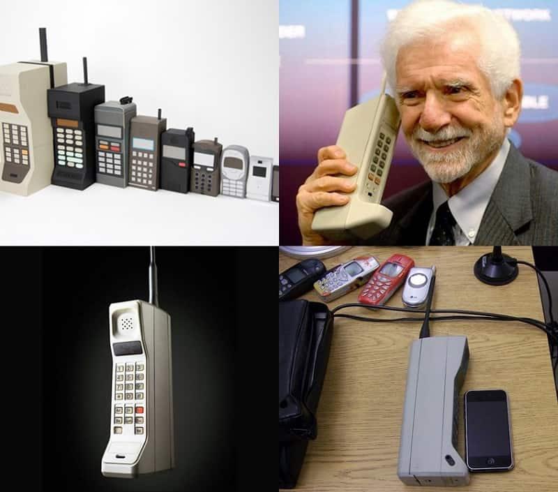 фото даказуещее что раньше были мобильные телефоны следует