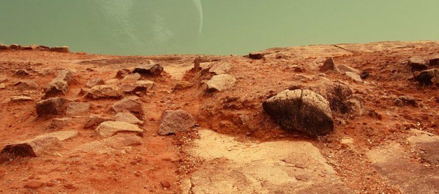 Primećene čudne strukture na Marsu