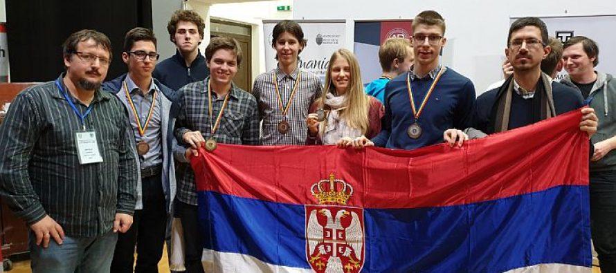 Učenici matematičke gimnazije osvojili pet medalja u Rumuniji
