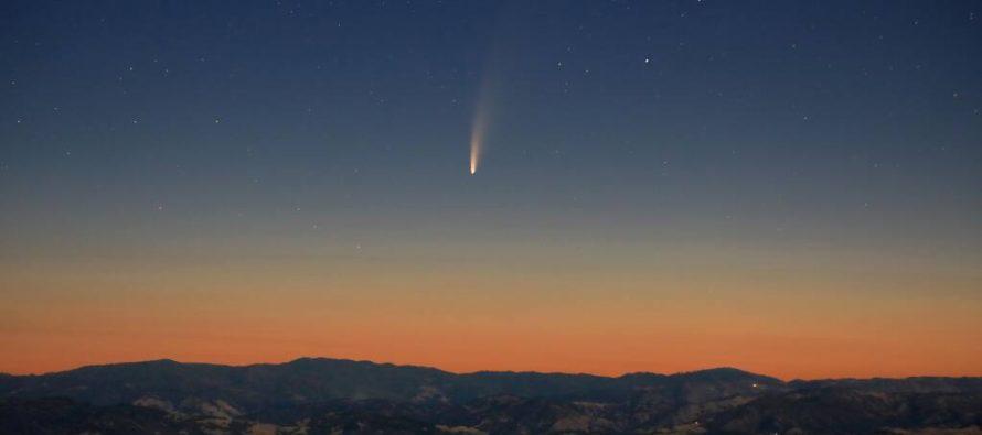 """Neowise kometa – """"prljava grudva"""" čistog sjaja"""